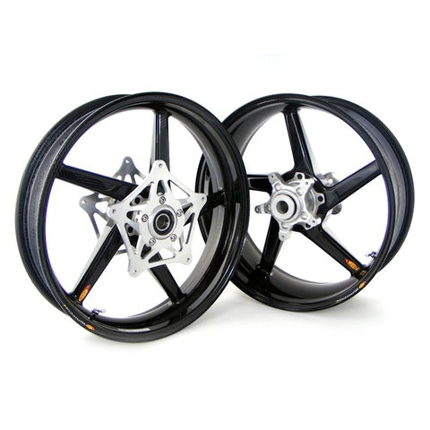 BST Carbon Fiber Wheel Set for Yamaha R1 / R1S / R1M / FZ10