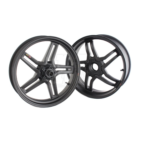 BST Rapid TEK Carbon Fiber Wheel Set for Ducati Panigale 1199 1299 V4 V4S Speciale