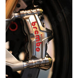 Brembo Racing GP4-MS Monoblock CNC Nickel Plated Calipers - 100mm