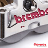 Brembo Racing GP4 RX CNC Nickel Plated Calipers - 108mm