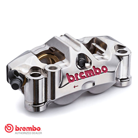 Brembo Racing GP4 RX CNC Nickel Plated Calipers - 100mm