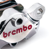 Brembo Billet Axial Nickel Plated Rear Caliper for Panigale V2 1199 1299