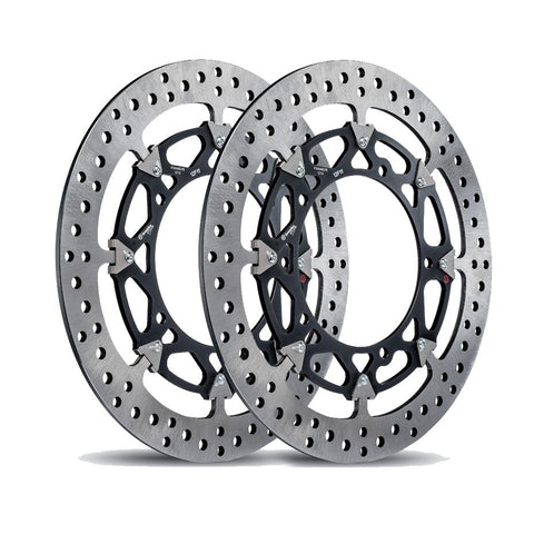 Brembo T-Drive Front Floating Brake Rotor Kit for Yamaha R1 / R1S / R1M