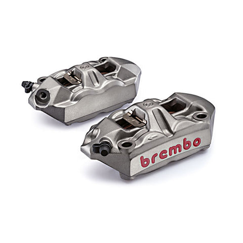 Brembo Racing M4 Silver Cast Monoblock Front Calipers for S1000RR 2020 2021