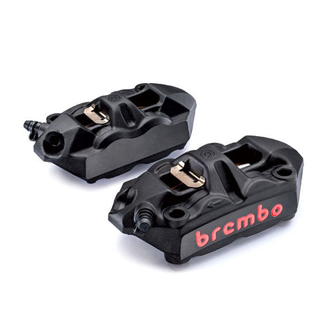 Brembo Racing M4 Black Cast Monoblock Front Calipers for S1000RR 2019 2020