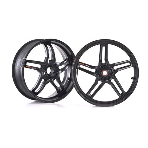 BST RapidTEK Carbon Fiber Wheel Set for Panigale V4 V4S V4R