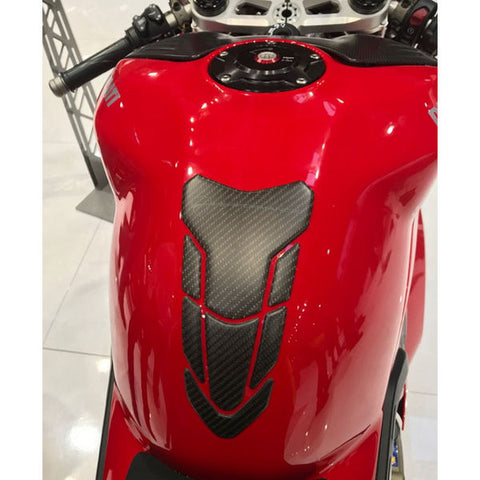 Ducati Performance Carbon Fiber Tank Protector Pad for V4 V4S V4R