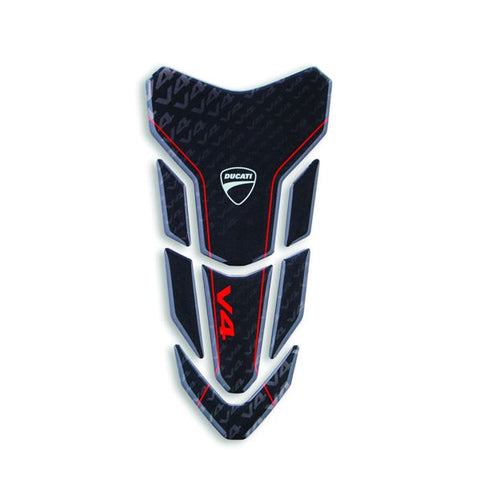 Ducati Performance Black Logo Tank Protector Pad for V4 V4S V4R