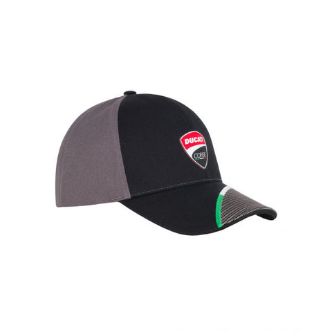 Ducati Corse Stripes Official Licensed MotoGP Race Team Cap Black