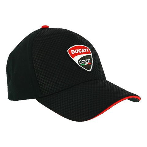 Ducati Corse Carbon Official MotoGP Race Team Cap - Black