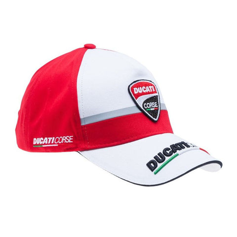 Ducati Corse Official MotoGP Race Team Cap - Red & White