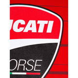 Ducati Corse Stripes Official MotoGP Race Team T-Shirt - Red