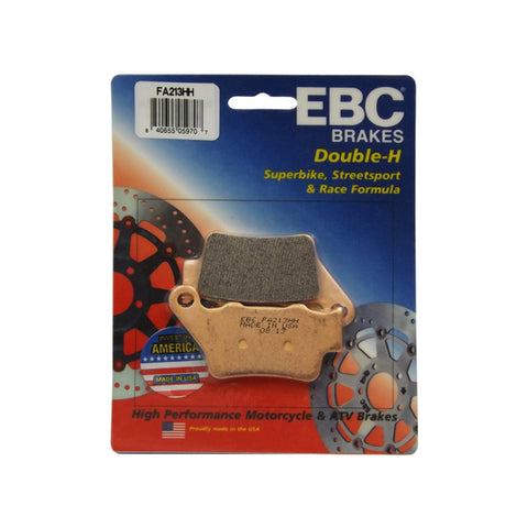 EBC Double-H Sintered Rear Brake Pads for BMW S1000RR 2010 to 2018