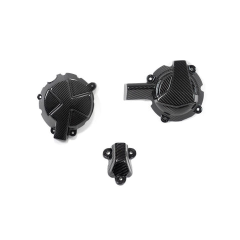 Ilmberger Carbon Engine Case Cover Slider Kit for BMW S1000RR 2019 2020
