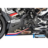 Ilmberger Carbon Fiber Belly Pan for Slip On Exhaust fits S1000RR 2019 2020