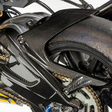 Ilmberger Carbon Fiber Rear Hugger with Chain Guard for BMW S1000RR HP4 2009-2018