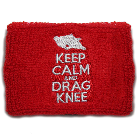 Keep Calm and Drag Knee Brake Reservoir Cover