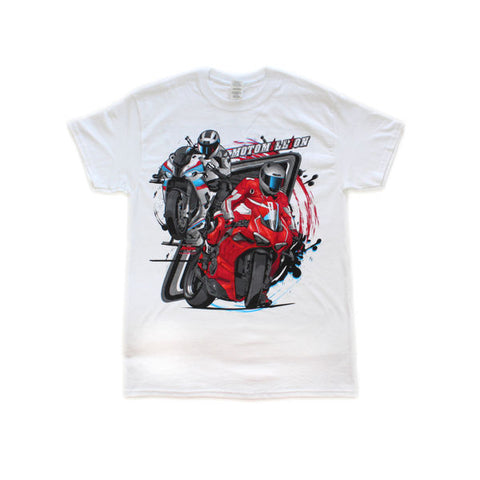Motomillion Team Shirt S1000RR Panigale V4R Special Edition