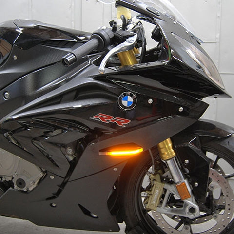 NRC BMW S1000RR LED Front Flush Mount LED Turn Signals