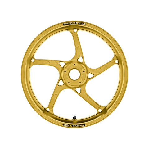 OZ Racing Piega R Forged Aluminum Wheel Set Anodized Gold for Yamaha R1 / R1S / R1M