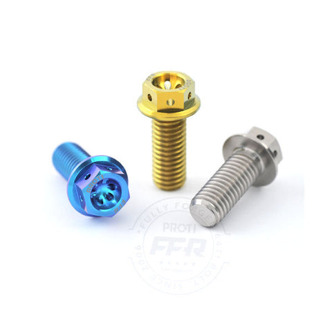 Proti Titanium Rear Brake Caliper Bolt Kit for Panigale V4 V4S V4R Speciale