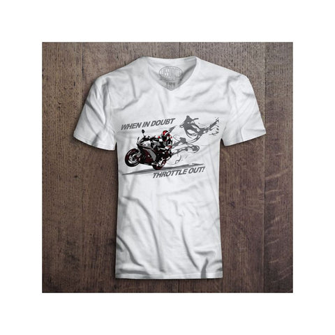 Lussomoto When in Doubt Throttle Out T-Shirts