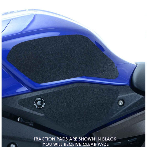 R&G Racing EaziGrip Clear Tank Traction Grip Pads for R1 R1S R1M