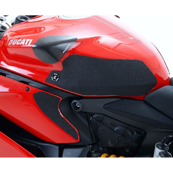 2013 R/&G  4 PIECE  Eazi-Grip CLEAR Tank Traction Pads Ducati 1199 Panigale