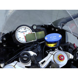 Rizoma Next Front Brake Fluid Reservoir Kit with Bracket for Yamaha R1 R1S R1M