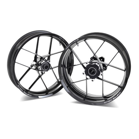 Rotobox Bullet Forged Carbon Fiber Wheel Set for Kawasaki ZX10R