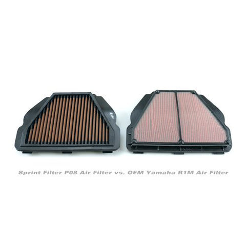 Sprint Filter P08 Street Performance Air Filter For Yamaha R1 R1S R1M - PM150S