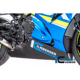 Ilmberger Carbon Fiber Racing Belly Pan for Suzuki GSXR 1000 1000R