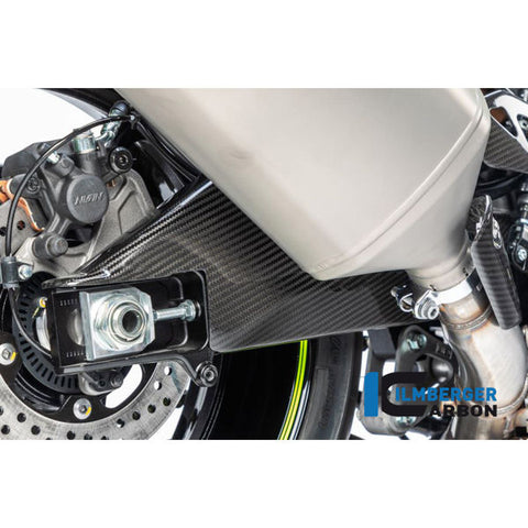 Ilmberger Carbon Fiber Swingarm Cover Set for Suzuki GSXR 1000 1000R