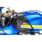 Ilmberger Carbon Fiber Upper Tank Cover for Suzuki GSXR 1000 1000R