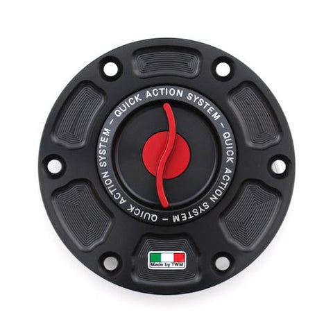 TWM Quick Action CNC Aluminum Gas Cap for MV Agusta - TMPR.03