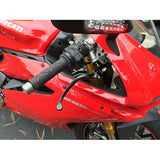 TWM GP Style Adjustable and Folding Levers for Ducati