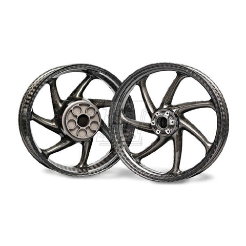 Thyssenkrupp Carbon Fiber Wheel Set for BMW S1000RR / HP4