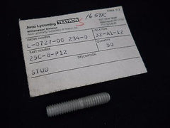 One (1) New Lycoming 25C-8-P12 Stud-.250-20 X 1.00 Long|Un (1) Lycoming 25C-8-P12 Espárrago -.250-20 X 1.00 (Nuevo)