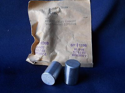 Two (2) NEW Lycoming 72965 Roller|Dos (2) Lycoming 72965 Perno (Nuevo)