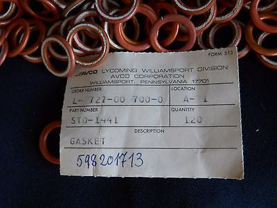 120 NEW Lycoming STD-1441 Crush Washers|120 Lycoming – STD-1441 Arandela/Rondana de Presión