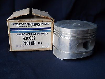 "One (1) NEW TCM Continental 630687 Piston Superseded: 654861 - 4.44"" diameter