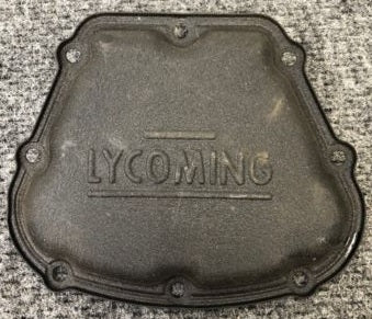 One (1) Lycoming 68795 Valve Cover USED/AS REMOVED |Un (1) Lycoming 68795 Cubre Valvulas USADO