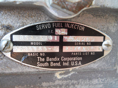 One (1) USED CORE Bendix RSA-5EDI Fuel Injector Servo - NO CORE CHARGE!|Un (1) Bendix RSA-5EDI Servo de Combustible (USADO)
