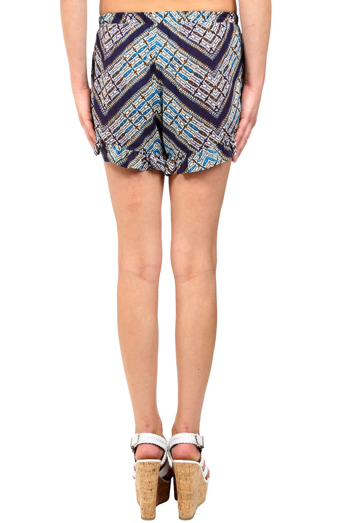ASILAH RUFFLE FRENCH SHORTS - AS IS