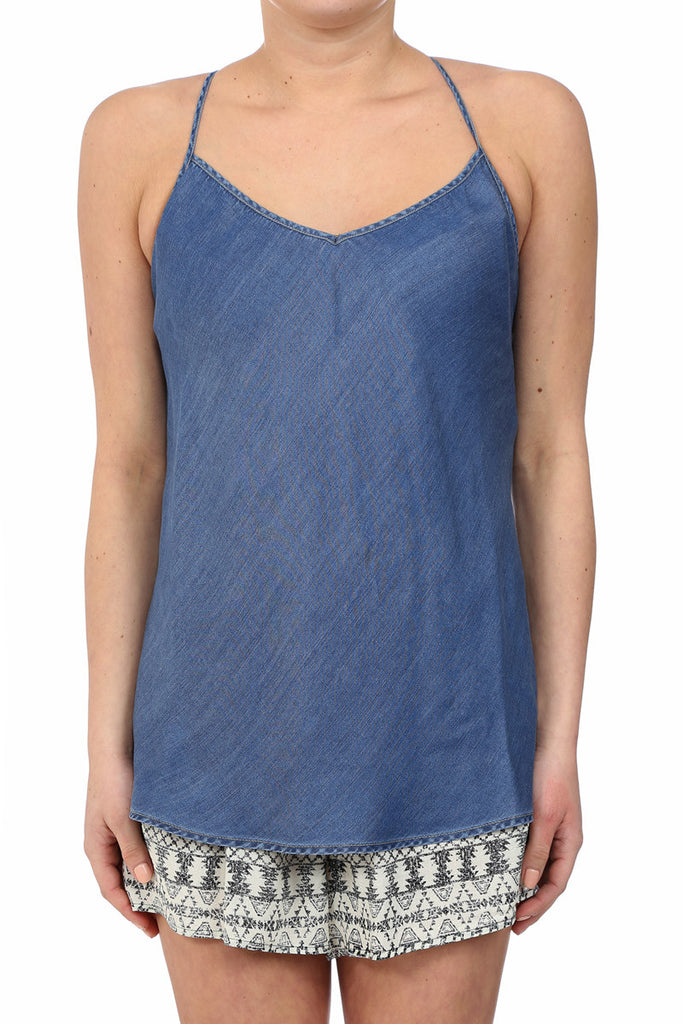 TENCEL LOUNGE TANK - MEDIUM