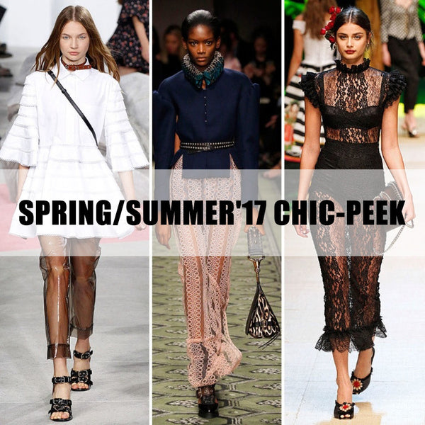 Spring Summer 2017 Chic-Peek