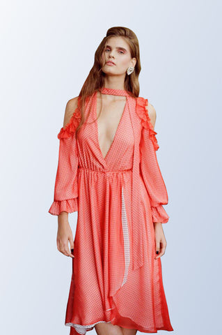 Plumful Asymmetric Dress