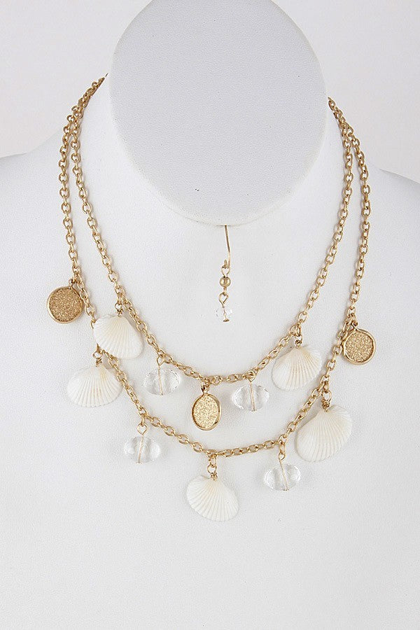 Shell Baeded Necklace