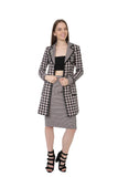 Chokolat Houndstooth Pencil Skirt