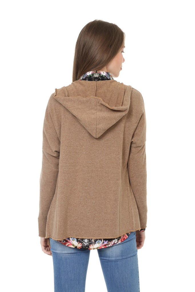 Lucky Camel Hoodie Cardigan